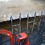 etaiement pour decontamination - ÉTAIEMENT POUR DÉCONTAMINATION - Alerte fissure
