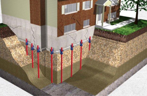 house plan 2 - Pieutage hydraulique - Alerte fissure