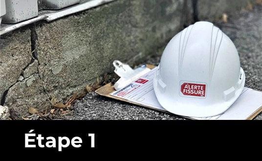 installation etape 01 v2 - Fissure - Alerte fissure
